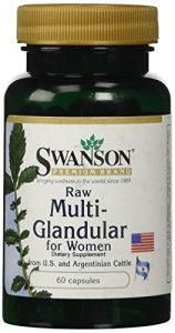 Raw Multi-Glandular For Women 60 Caps by Swanson Premium