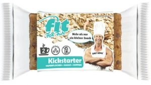 Oat King FFF Kickstarter Haferflockenriegel 120mg Koffein Ideal Für Training Laktosefrei Vegan Kohlenhydratquelle Ballststoffe 10x95g
