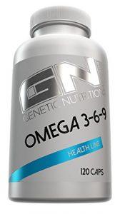GN Laboratories Omega 3-6-9 Health Line essentielle Fettsäure Vitamine Mineralien Bodybuilding 120 Kapseln