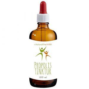 Propolis Tinktur 100 ml | 40% Propolis | Imker-Qualität | 100% Natur | OHNE Hilfs- u. Zusatzstoffe | Gluten- und Laktosefrei