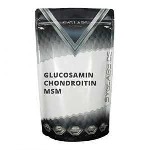 Syglabs Nutrition Glucosamin Chondroitin MSM – 500 Tabletten, 1er Pack (1 x 375 g)