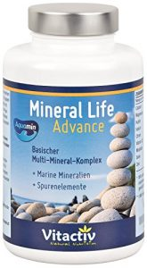 MINERAL LIFE Advance – Organische Mineralien mit AQUAMIN für gesunden Säure-Basen Haushalt (120 Kapseln)