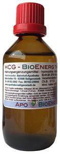 HCG BioEnerg Tropfen – 50 ml – preiswerte Kurpackung – hormonfrei – mit Zink – aus deutscher Traditionsapotheke