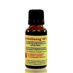 Propolislösung 40% Propolistinktur in Alk. 20ml