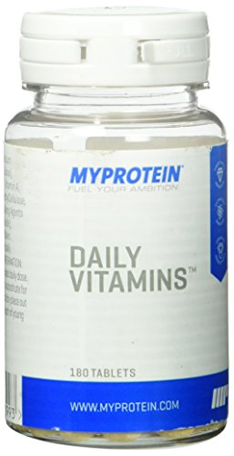 Myprotein Daily Vitamins MultiVitamin  180 Tabletten, 1er Pack (1 x 10 g)