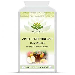 Apfelessig-Kapseln (Apple Cider Vinegar) – 120 Kapseln – Unterstützen Sie den Stoffwechsel des Körpers