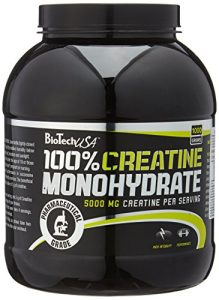 BioTech USA Creatine Monohydrate, 1er Pack (1 x 1 kg)