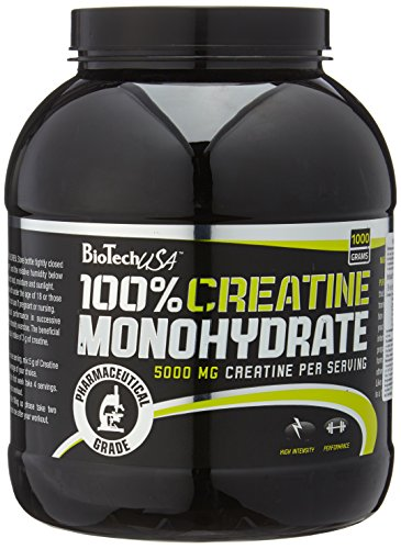 BioTech USA Creatine Monohydrate, 1er Pack (1 x 1 kg)