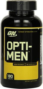 Optimum Nutrition Opti Men 180 Tabletten, 1er Pack (1 x 200 g)