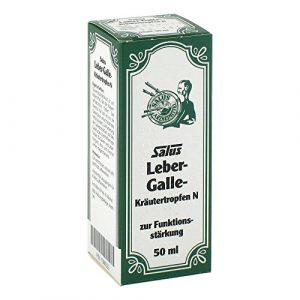 Leber Galle Kräutertropfen N Salus 50 ml