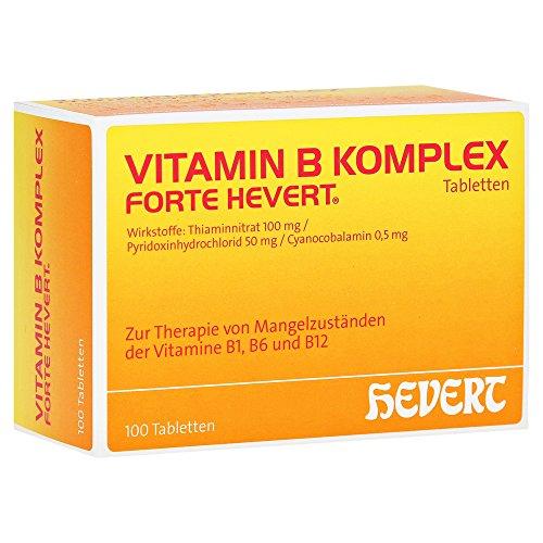 Vitamin B Komplex forte Hevert Tabletten 100 stk
