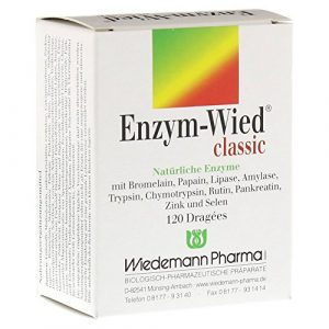 ENZYM WIED classic Dragees 120 St Dragees