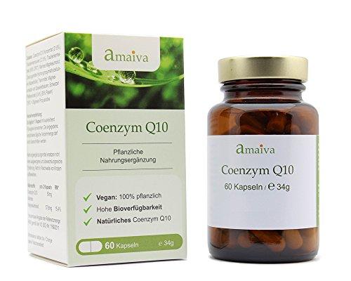 Coenzym Q10 Kapseln 100mg Ubichinon + OPC mit erhöhter Bioverfügbarkeit (vegan, freiverkäuflich, hergestellt in Deutschland nach ISO 9001, PZN: 11482640)