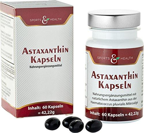 Astaxanthin Kapseln - 2 Monatsvorrat - Ohne Magnesiumstearat