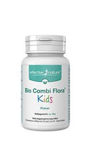 effective nature Bio Combi Flora Kids Pulver – 50g – Zur Bereicherung der Darmflora – Probiotika für Kinder – Besonders einfache Einnahme