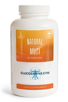 Natürliches Multivitamin-Supplement (90 Kapseln, nicht-synthetisch)