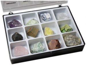 Mineralien Brutto Boite de 12Steine Rohsteine Heilstein- und Collection