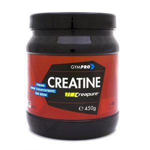 CREAPURE CREATINE – 100% Monohydrat Pulver Für Bodybuilder Und Sportler In deutscher Premium-Qualität I 450g I Vegan & Halal I Mehr Leistung im Training von GymPro I Made in Germany