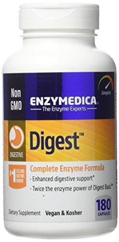 Enzymedica, Digest, Komplette Enzymformel, 180 Vegane Kapseln