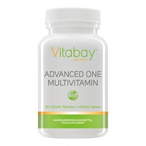 Advanced One Multivitamin – 30 Tabletten – Vitamine Mineralstoffe, Spurenelemente