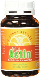 Astaxanthin – versandkostenfrei – VitalAstin 300 Kapseln – Das Original Ivarssons VitalAstin mit 4 mg natürlichem Astaxanthin – Antioxidans