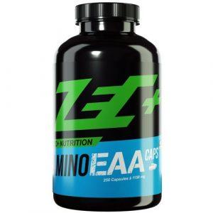 ZEC+ AMINO EAA Caps | essentielle Aminosäuren für den Muskel- und Gewebeaufbau | 8 EAAs in Reinform | schnelle Aufnahme im Körper | 250 Kapseln