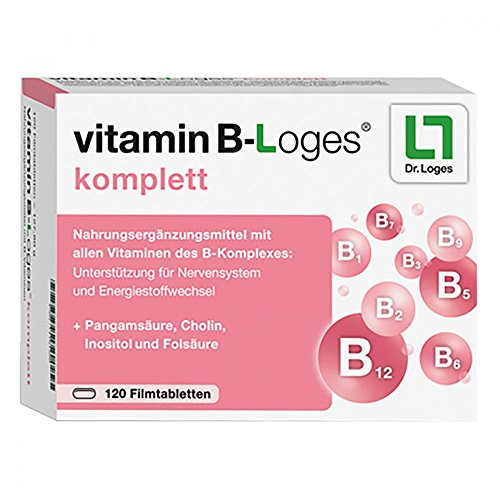 Vitamin B-Loges komplett, 120 St. Tabletten