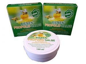 Bienen Propolis Salbe 100ml von Bienen Diätic ohne Konservierungsstoffe 3 Stück