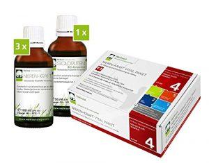Wellnest Nieren-Kraft Detox-Kur-Paket (Entgiftungs-Kurpaket für 30 Tage Nierenreinigung nach Hulda Clark) – 100% pflanzlich – einfache Handhabung – sehr gut wirksam bei häufigen Blaseninfekten und Nierenbeschwerden
