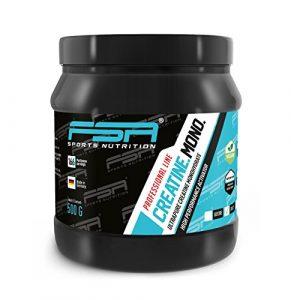 Creatin Monohydrat Pulver der deutschen Profisport Marke FSA Nutrition® | Kreatin Pulver – Vegan | für Kraftsport, Fitness & Bodybuilding | 500g