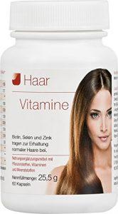 Vihado Haar-Vitamine – intensiv Vitalformel, Biotin + Selen + Zink, 60 Kapseln, 1er Pack (1 x 25,55 g)