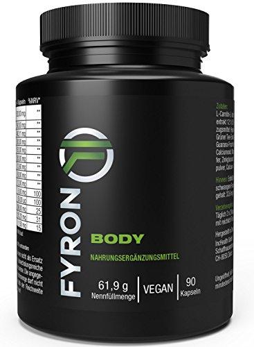 FYRON Body Premium | Stoffwechsel | Garantiert ohne Füllstoffe, 100% Vegan