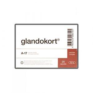 Glandokort – Nebennierenextrakt – 20 Kapseln pro Packung