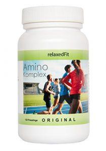 Amino Komplex – Fitnessprodukt – Made in Germany – Muskelaufbau & Diätunterstützung (2-Monatspackung (120 Presslinge))