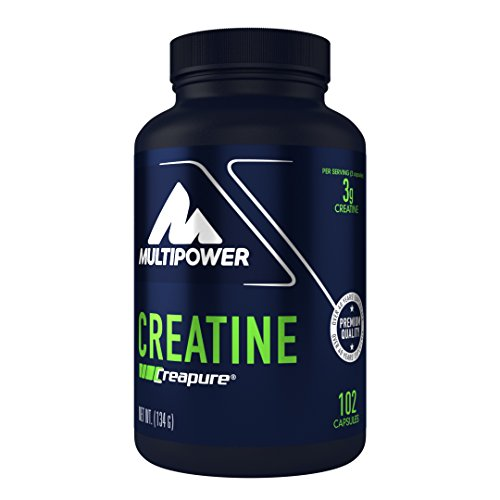 Multipower Creatine 102 Kapseln, 1er Pack (1 x 130 g)