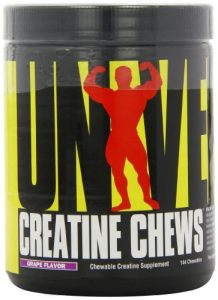 Universal Nutrition, Creatine Chews Grape, 354 g