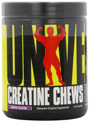 Universal Nutrition, Creatine Chews Grape, 354 g