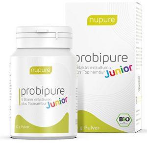 BIO KINDER Pulver – Nupure Probipure Junior mit 5 Bakterienkulturen plus Inulin für Darmflora und Immunsystem