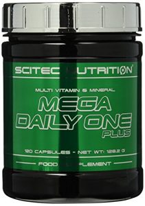 Scitec Nutrition Mega Daily One Plus, 120 Kapseln, 1er Pack (1 x 128,2 g)