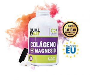 Kollagen mit Magnesium für die Knochen und Gelenke – hydrolysiertes Kollagen mit Calcium, Silicium und Vitamin C und D für eine bessere Elastizität und Gesundheit der Haut – 300 Tabletten