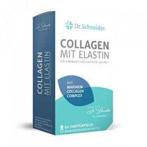 Dr. Schneider Collagen mit Elastin für Spannkraft und Elastizität der Haut – bekannt aus dem deutschen TV