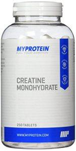 Myprotein Creatin Monohydrat  250 Tabletten, 1er Pack (1 x 250 g)