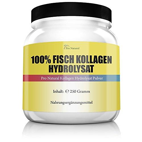 Fisch Kollagen Hydrolysat Pulver - Haut Bingewebe Gelenke & Knorpel Marine Collagen ( Collagen Protein Pulver )