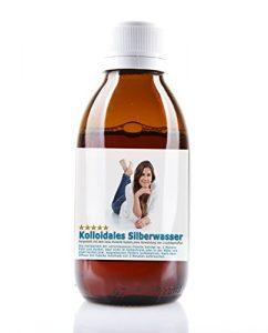 Kolloidales Silber 1000ml mit 25ppm in einer Apotheker Glasflasche -Reinst-Silber (Reinheitsstufe 99,99%)