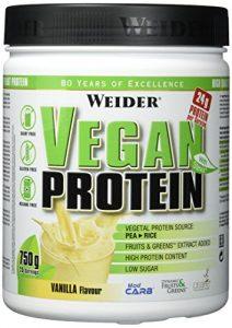 Weider, Vegan Protein, Vanille, 1er Pack (1 x 750 g)