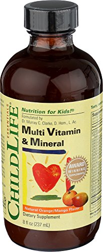 Child Life Multi Vitamin und Mineral, 230 ml