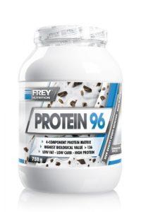 Frey Nutrition Protein 96 Straciatella, 1er Pack (1 x 750 g)
