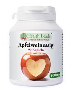 Apfelweinessig 300mg x 90 kapseln (100% ohne Zusatzstoffe)