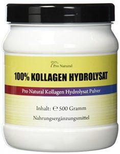 Pro Natural Kollagen – Hydrolysat 500g Pulver Collagen für die Gelenke & Knorpel ( Collagen Protein Pulver )