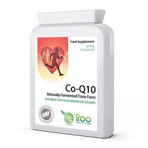 Co Enzyme Q10 CoQ10 300 mg 60 Kapseln Vegan – Extrastarke 'Trans'- Co Q10-Nahrungsergänzung
